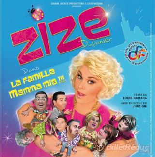 Zize, la cagole au festival d'Avignon, leblogreporter