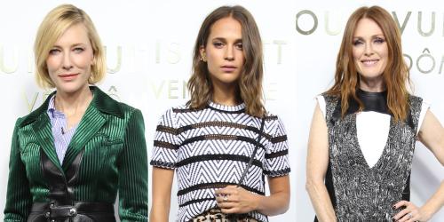 Vuitton-paris cateblanchett aliciaVikander julianneMoore