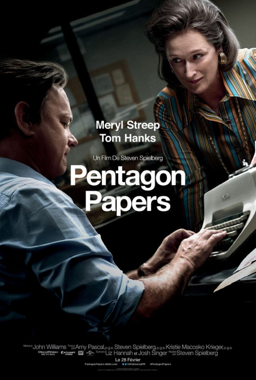 Pentagon papers premiere horaire cine blogreporter