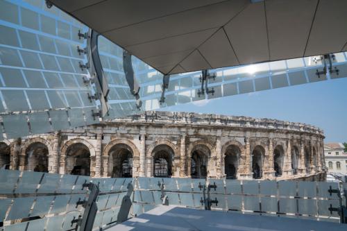Musee romain nimes blogreporter juin2018