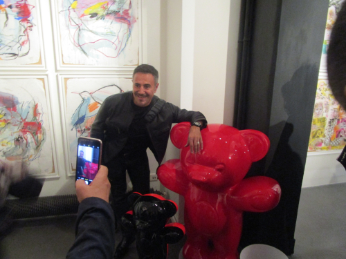 Vernissage paris oct jose Garcia