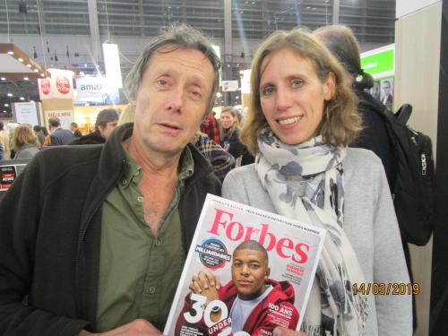 Salon du Livre 2019 - Forbes Antoine de Maximin et Diane Gontier (3)