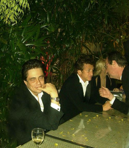 Benicio Sean Penn Baron dernier jour...