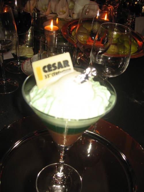 Dessert spécial César !