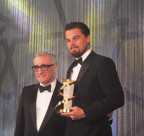 Di Caprio and Scorsese Marrakech