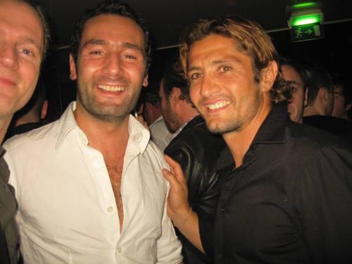Lizarazu et Gilles lellouche