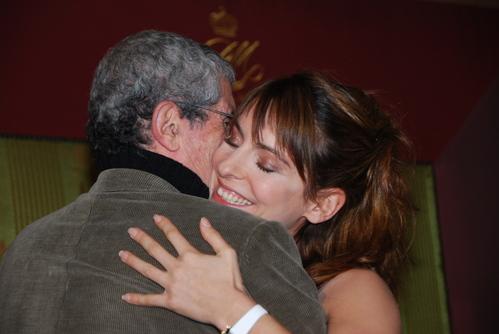 Lelouch et Audrey Dana 'prix romy Schneider)