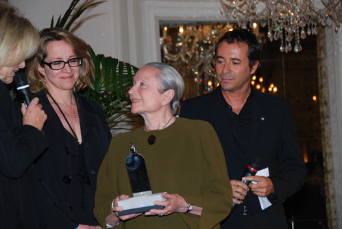Mme Noiret,sa fille Dominique et Montiel